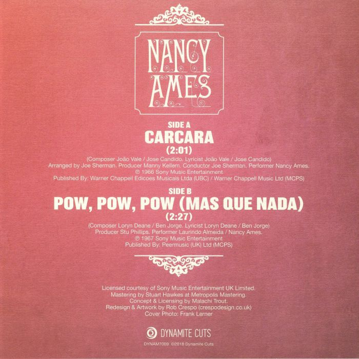 AMES, Nancy - Carcara