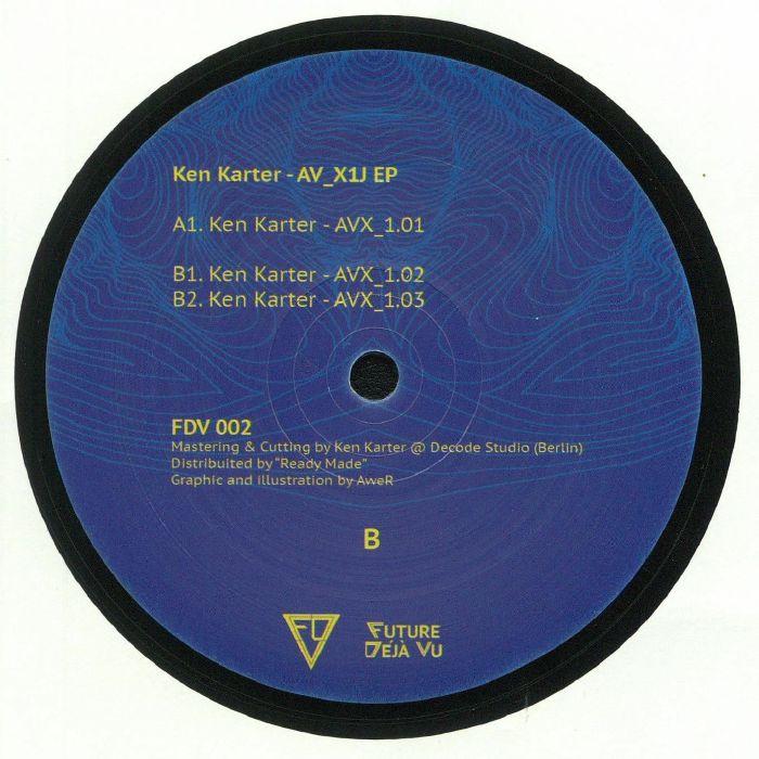 KARTER, Ken - AV X1J EP
