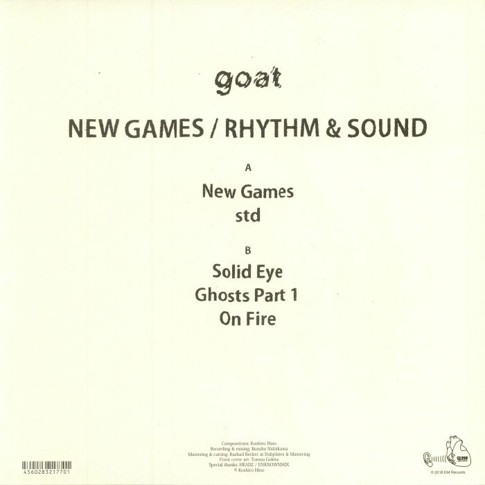 GOAT - New Games/Rhythm & Sound