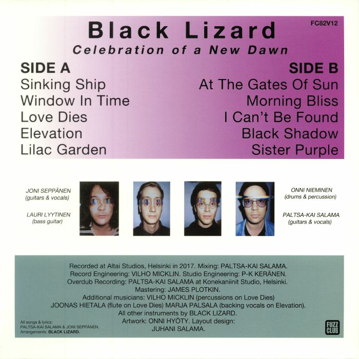 BLACK LIZARD - Celebration Of A New Dawn