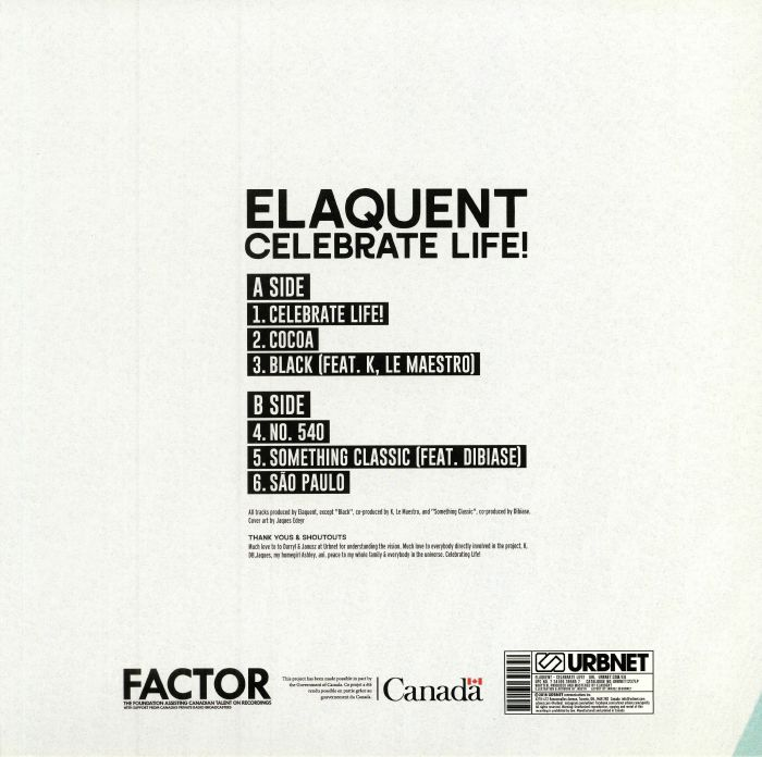 ELAQUENT - Celebrate Life!