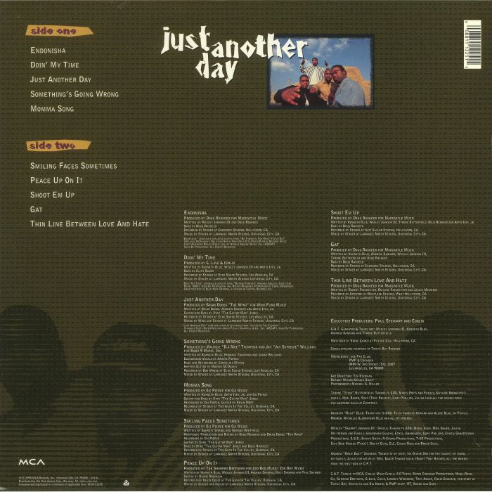 GANGSTAS & THUGS - Just Another Day