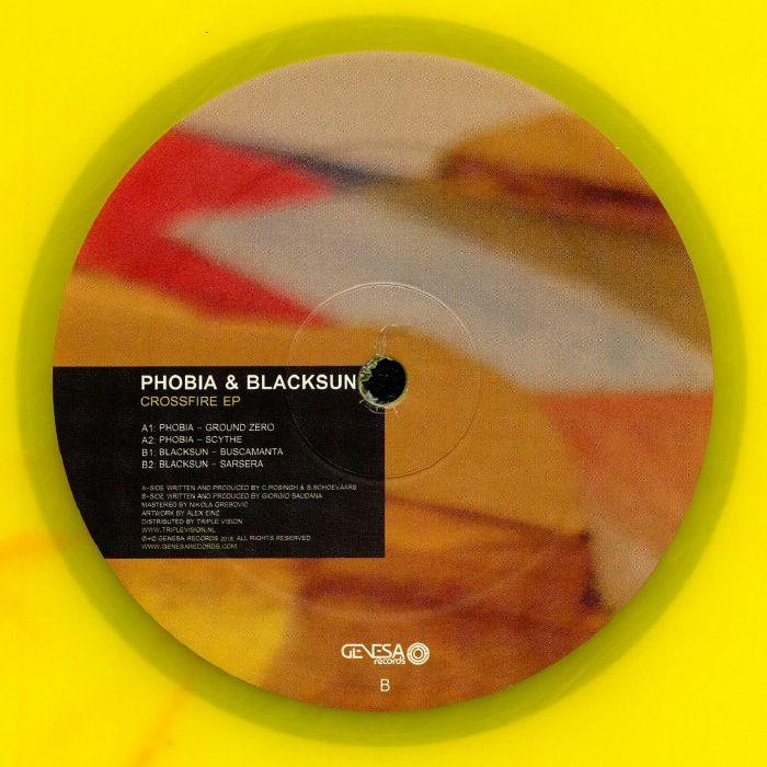 PHOBIA/BLACKSUN - Crossfire EP
