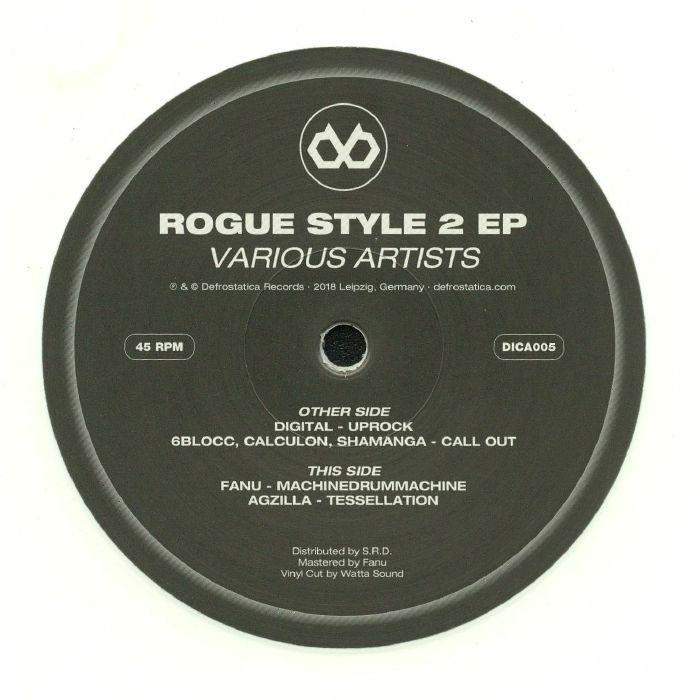 DIGITAL/6BLOCC/CALCULON/SHAMANGA/FANU/AGZILLA - Rogue Style 2 EP