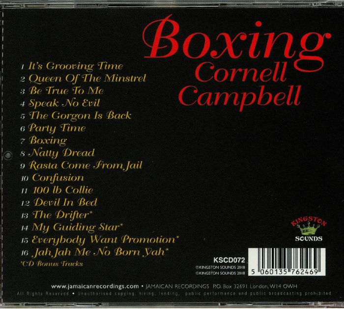 CAMPBELL, Cornell - Boxing