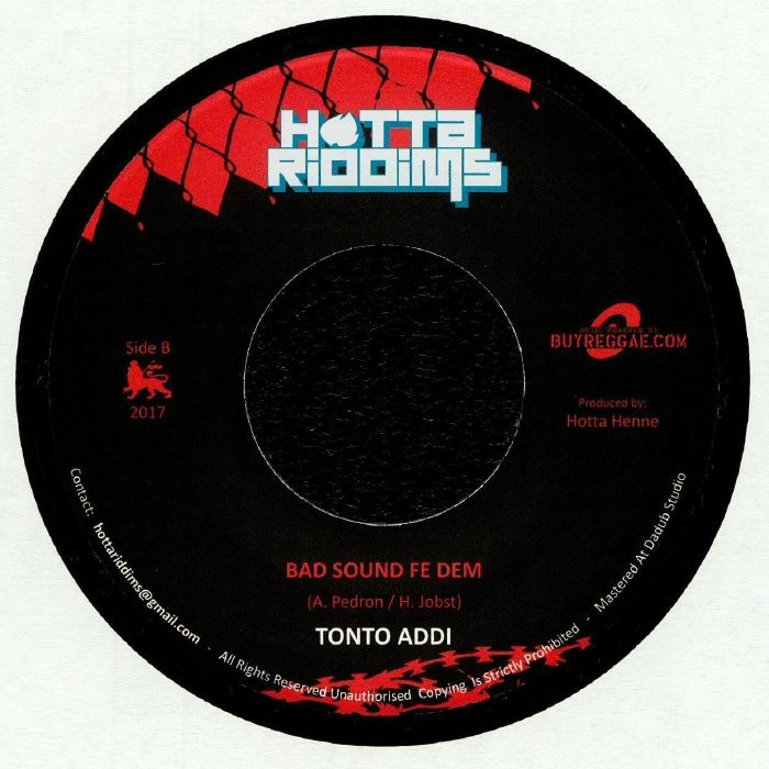 TENOR YOUTHMAN/TONTO ADDI - Me Give Dem Di Eye