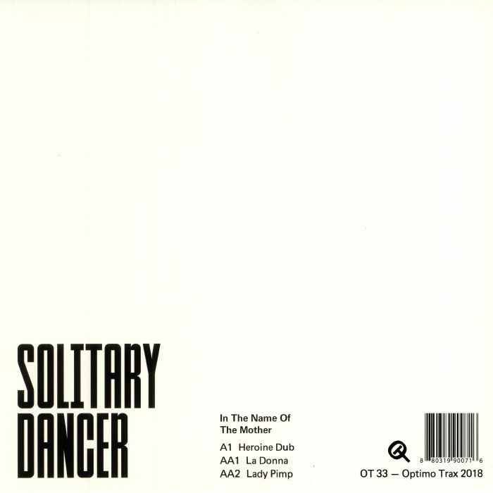 SOLITARY DANCER - In The Name Of The Mother