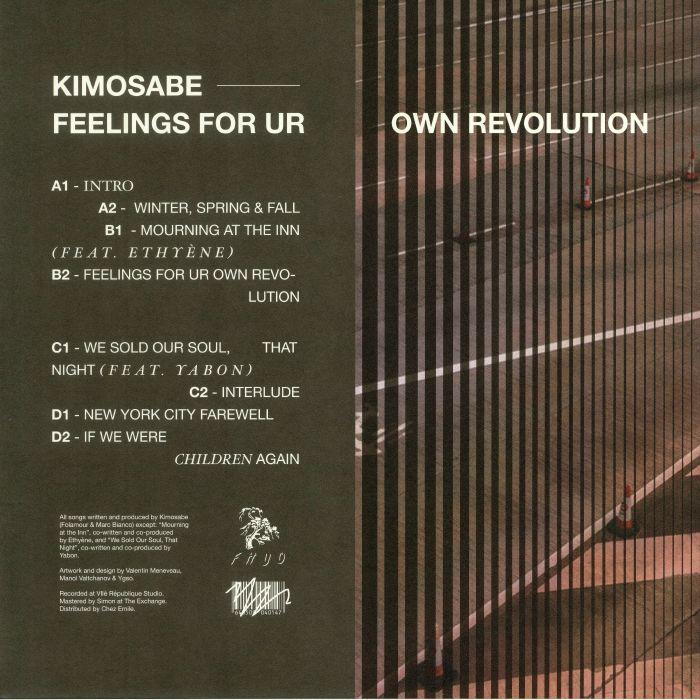 KIMOSABE - Feelings For Ur Own Revolution