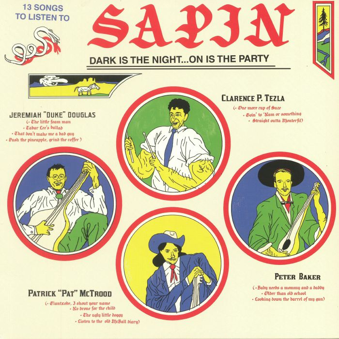 SAPIN - Dark Is The Night On Is The Party