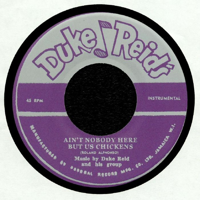 ALPHONSO, Roland/THE MOONLIGHTERS - Ain't Nobody Here But Us Chickens