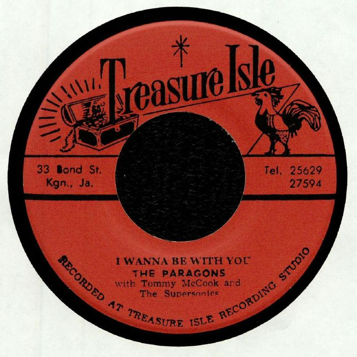 PARAGONS, The/TOMMY McCOOK & THE SUPERSONICS - I Wanna Be With You