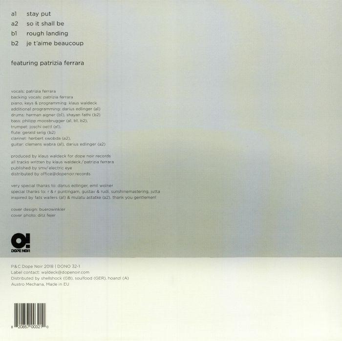 WALDECK - Stay Put EP