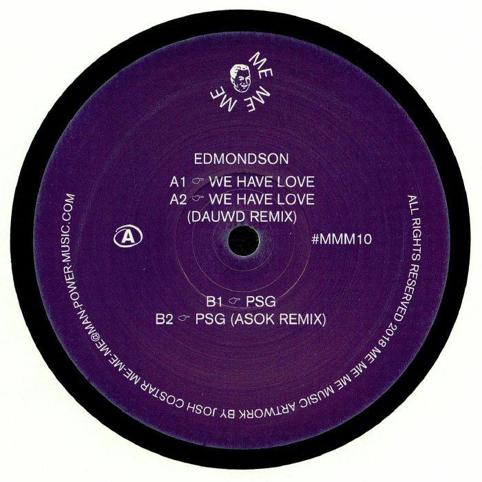 EDMONDSON - We Have Love