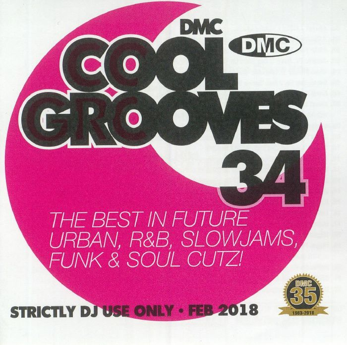 VARIOUS - Cool Grooves 34: The Best In Future Urban R&B Slowjams Funk & Soul Cutz! (Strictly DJ Only)