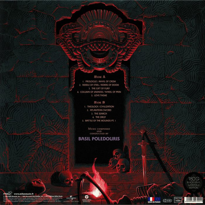 POLEDOURIS, Basil - Conan The Barbarian (Soundtrack)