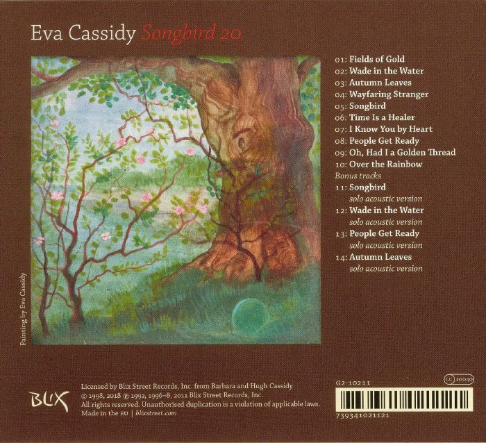 CASSIDY, Eva - Songbird 20