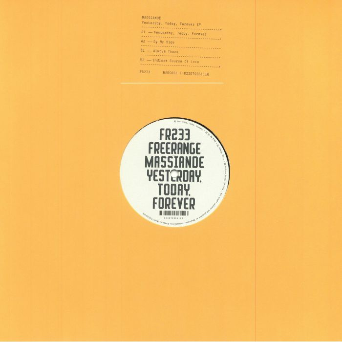 MASSIANDE - Yesterday Today Forever EP