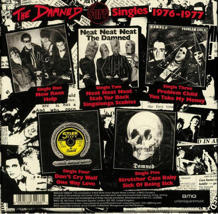 DAMNED, The - Stiff Singles 1976-1977
