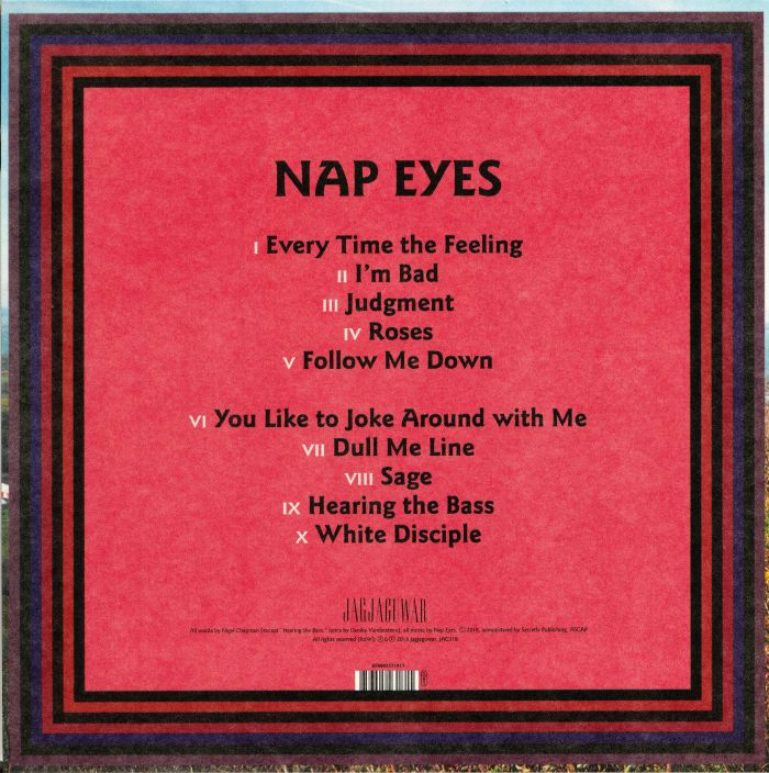 NAP EYES - I'm Bad Now