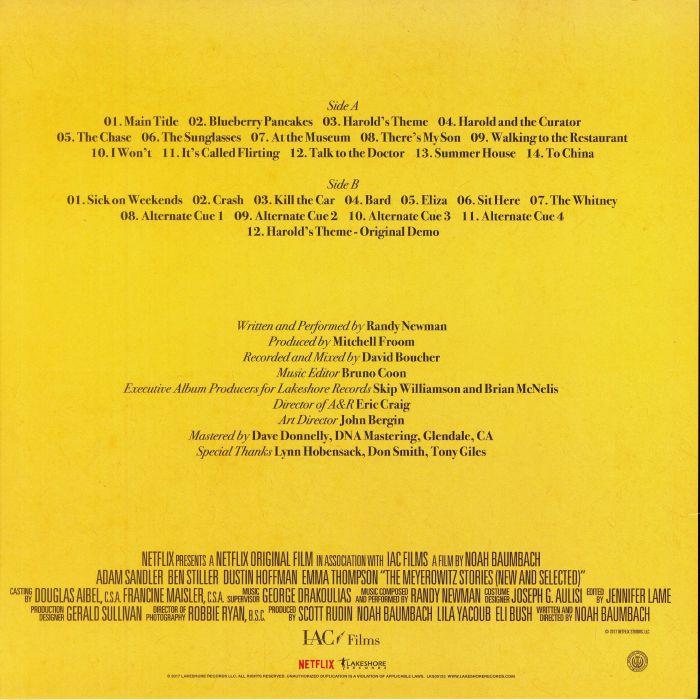 NEWMAN, Randy - The Meyerowitz Stories (Soundtrack)