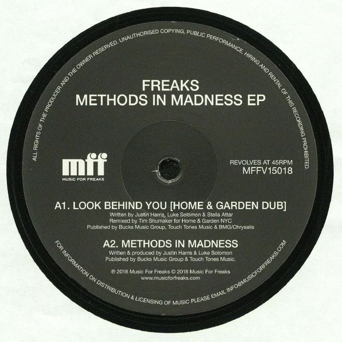 FREAKS - Methods In Madness EP (remastered)