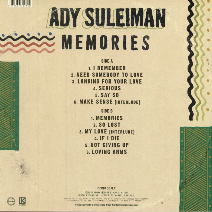 SULEIMAN, Ady - Memories
