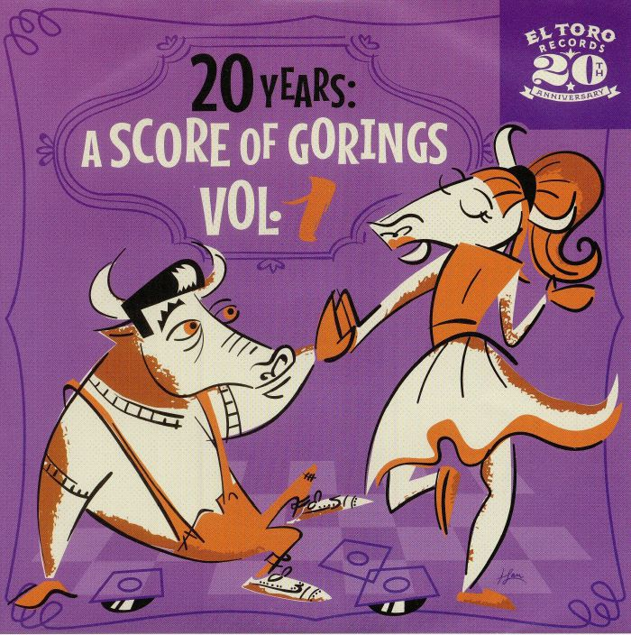 RUNNIN' WILD/THE WISE GUYZ/THE MILESTONES/THE TENNESSEE BOYS - 20 Years: A Score Of Gorings Vol 1