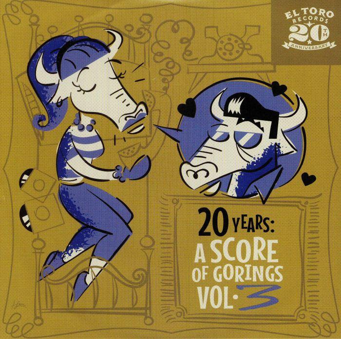WILLIAMS, Betsy Dawn/YUICHI & THE HILLTONE BOYS/DA SILVA TRIO/JUNIOR MARVEL - 20 Years: A Score Of Gorings Vol 3