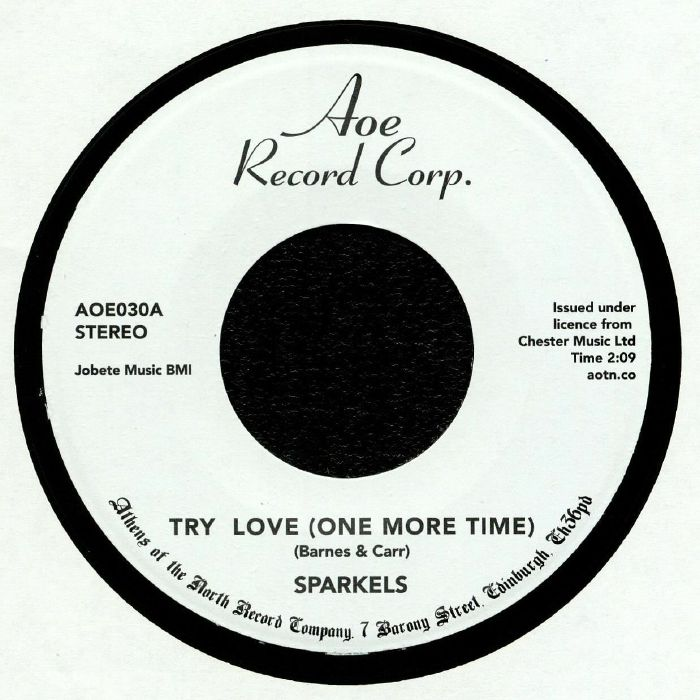 SPARKELS - Try Love (One More Time)