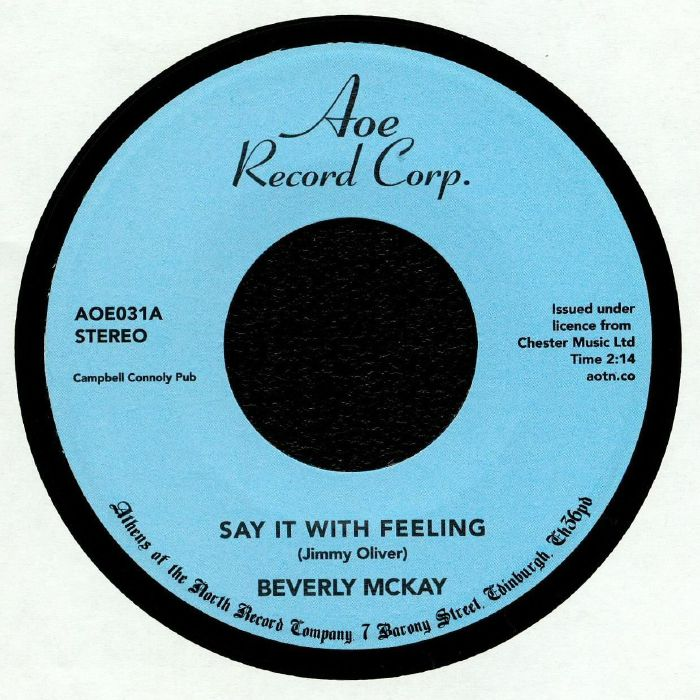 McKAY, Beverly - Say It With Feeling