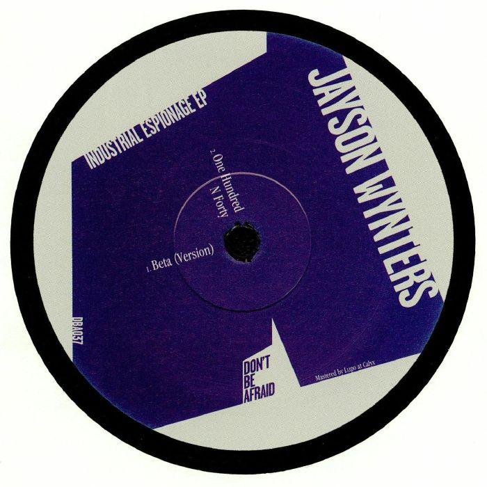 WYNTERS, Jayson - Industrial Espionage EP