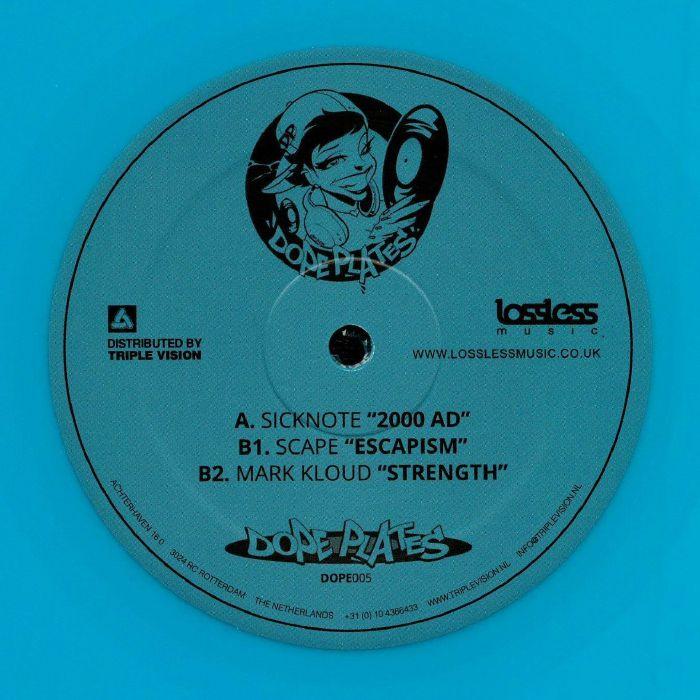 SICKNOTE/SCAPE/MARK KLOUD - 2000 AD