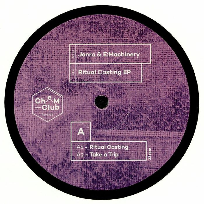 JONRA/E MACHINERY - Ritual Casting EP