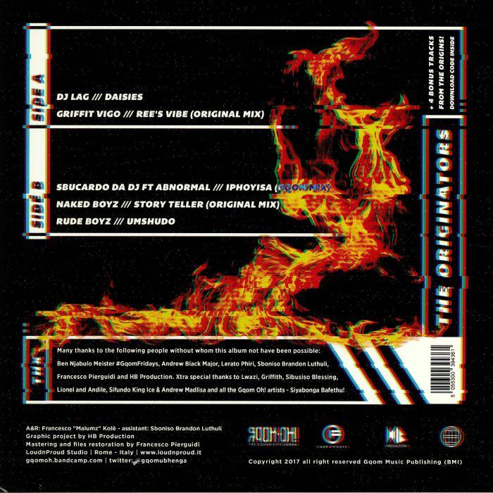 DJ LAG/GRIFFIT VIGO/SBUCARDO DA DJ/NAKED BOYZ//RUDE BOYZ - The Originators
