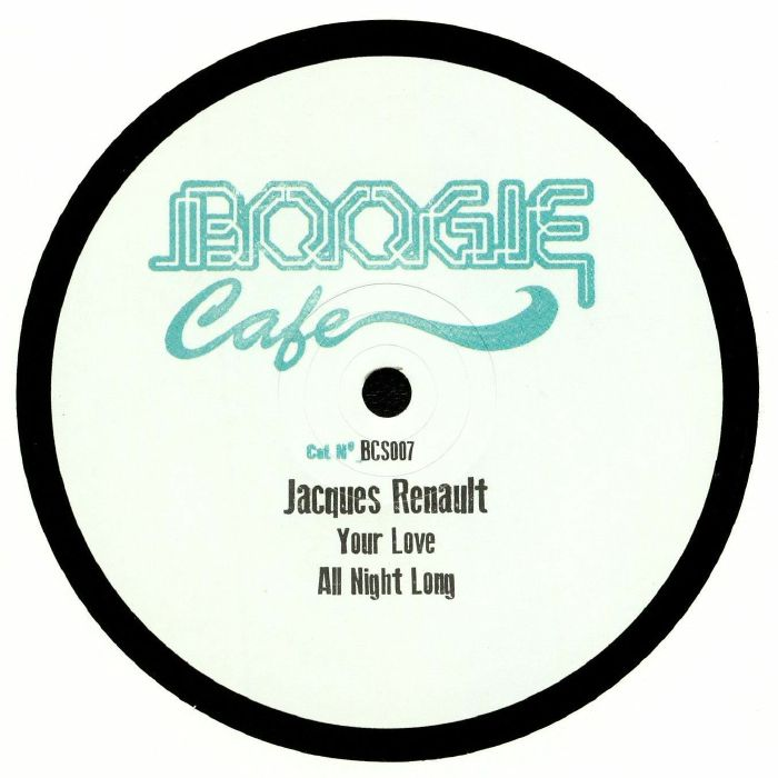 RENAULT, Jacques - Tribute to Ron Hardy EP