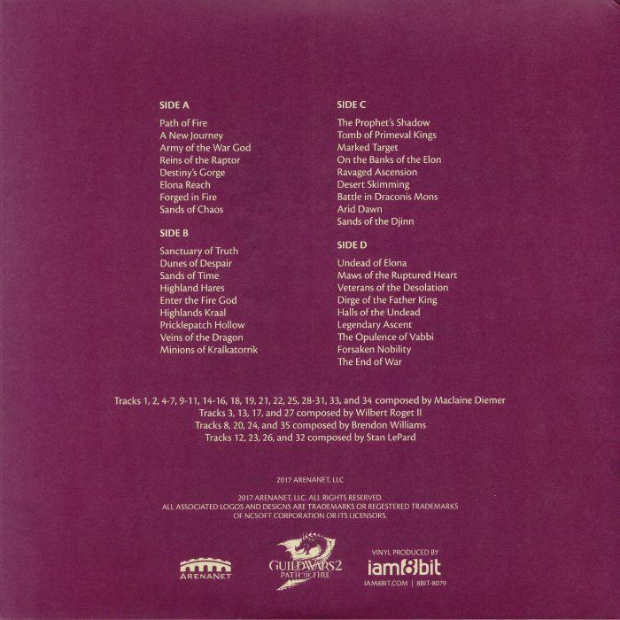 DIEMER, Maclaine/WILBERT ROGET II/BRENDON WILLIAMS/STAN LEPARD - Guild Wars 2: Path Of Fire (Soundtrack)