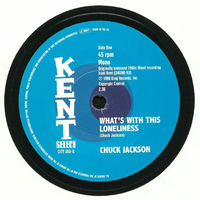 JACKSON, Chuck - What's With This Loneliness