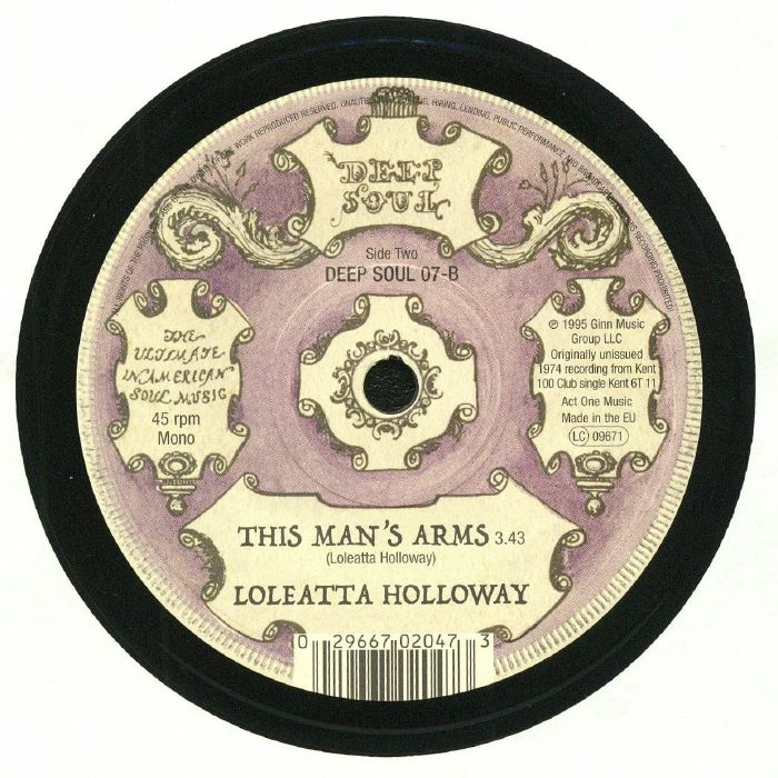 EDWARDS, John/LOLEATTA HOLLOWAY - Walls That Separate Our Love
