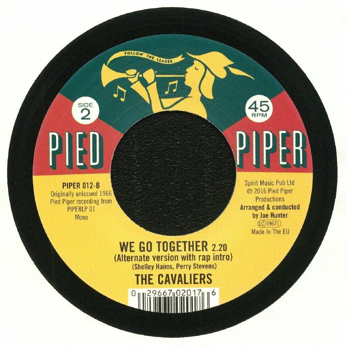 PIED PIPER PLAYERS, The/THE CAVALIERS - The Bari Sax