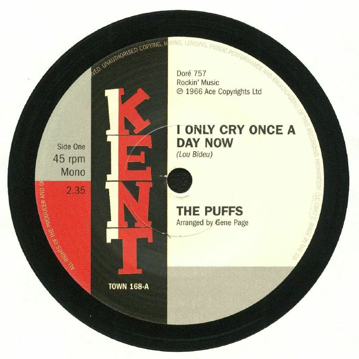 PUFFS, The/THE SUPERBS - I Only Cry Once A Day Now