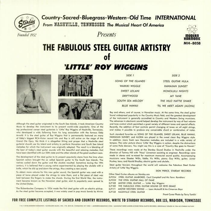 LITTLE ROY WIGGINS - The Fabulous Steel Guitar Artistry Of 'Little' Roy Wiggins