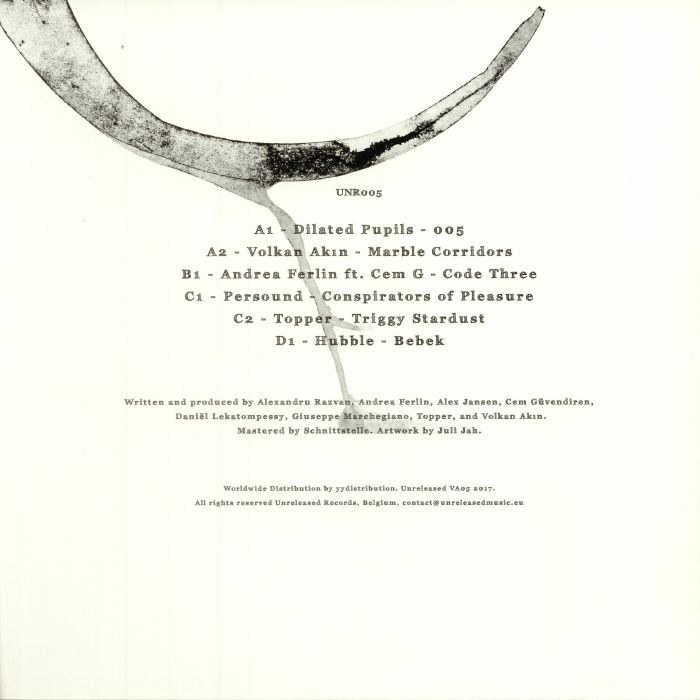 DILATED PUPILS/VOLKAN AKIN/ANDREA FERLIN/PERSOUND/TOPPER/HUBBLE - Various Artists