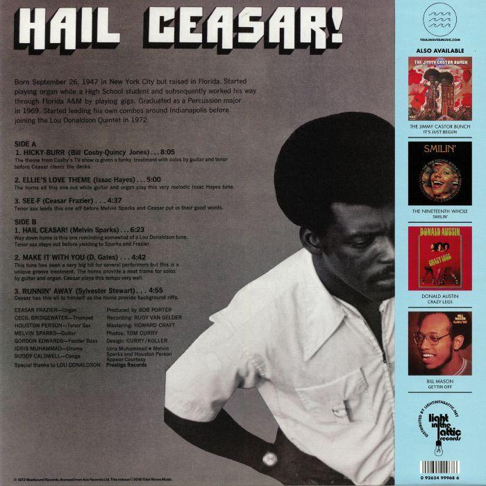 FRAZIER, Ceasar - Hail Ceasar! (reissue)