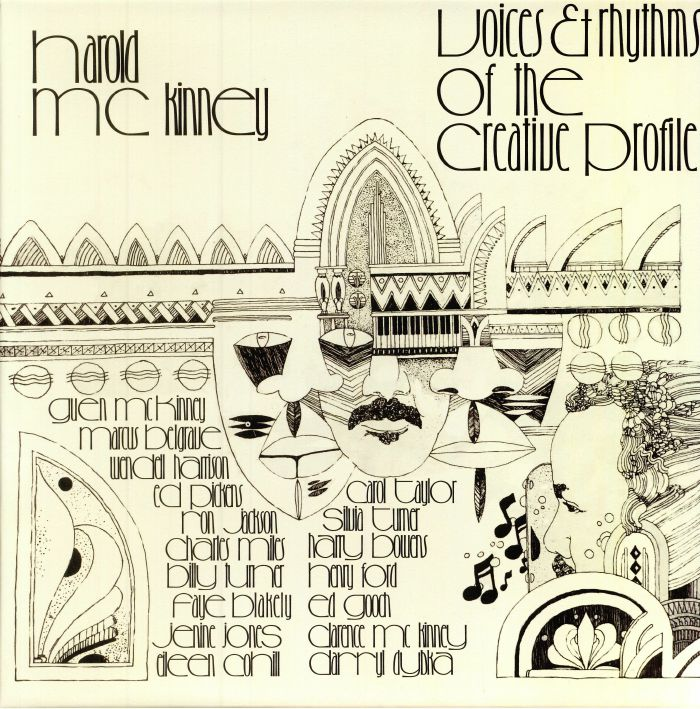 McKINNEY, Harold - Voices & Rhythms Of The Creative Profile (reissue)