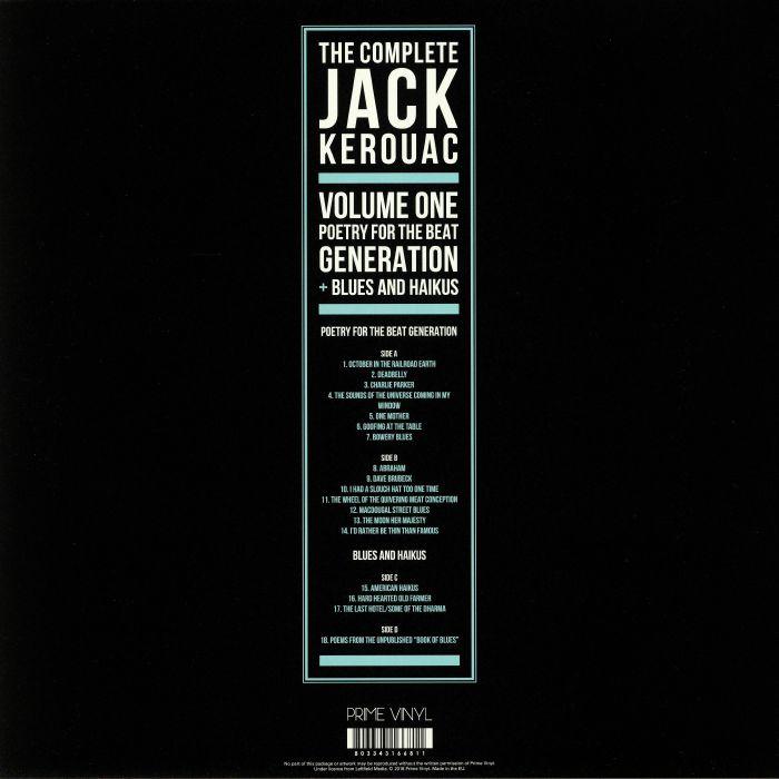 KEROUAC, Jack - The Complete Jack Kerouac Vol 1
