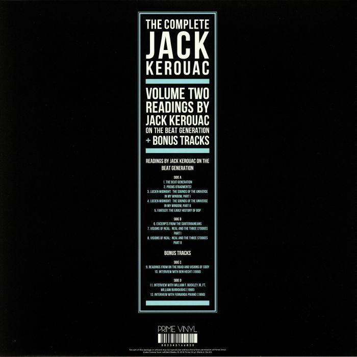 KEROUAC, Jack - The Complete Jack Kerouac Vol 2
