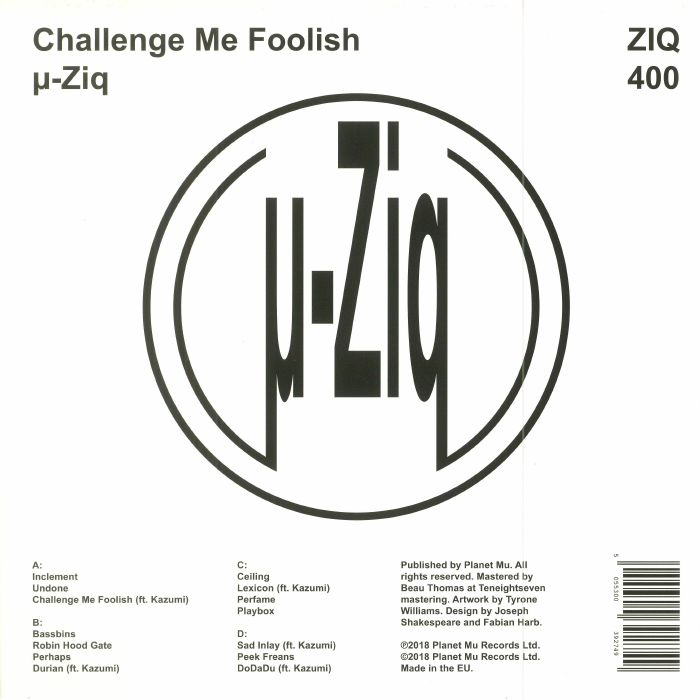 MU ZIQ - Challenge Me Foolish