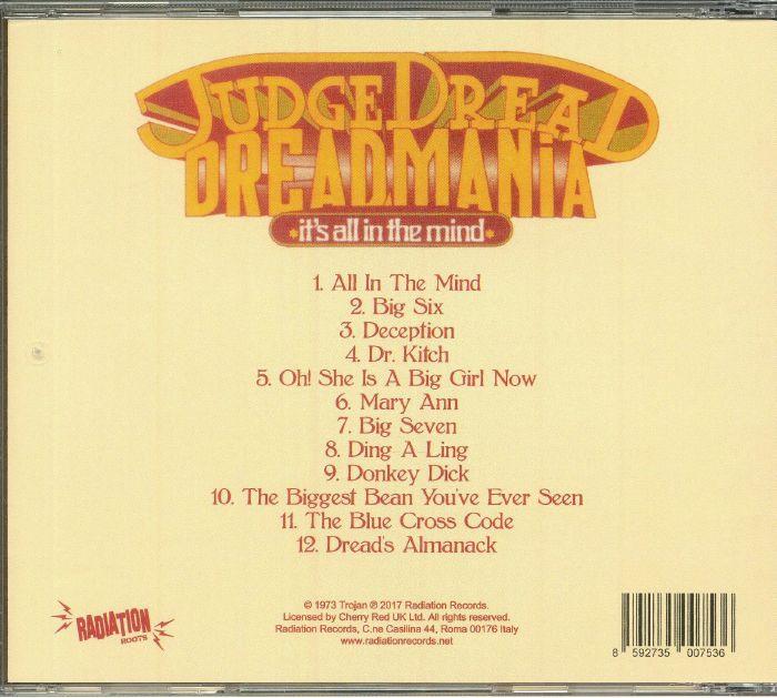 JUDGE DREAD - Dreadmania: It's All In The Mind