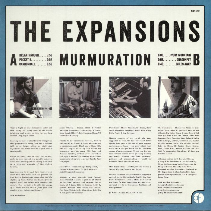 EXPANSIONS, The - Murmuration