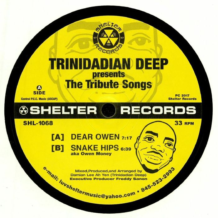Trinidadian deep the tribute songs vinyl at juno records for Top deep house tracks of all time